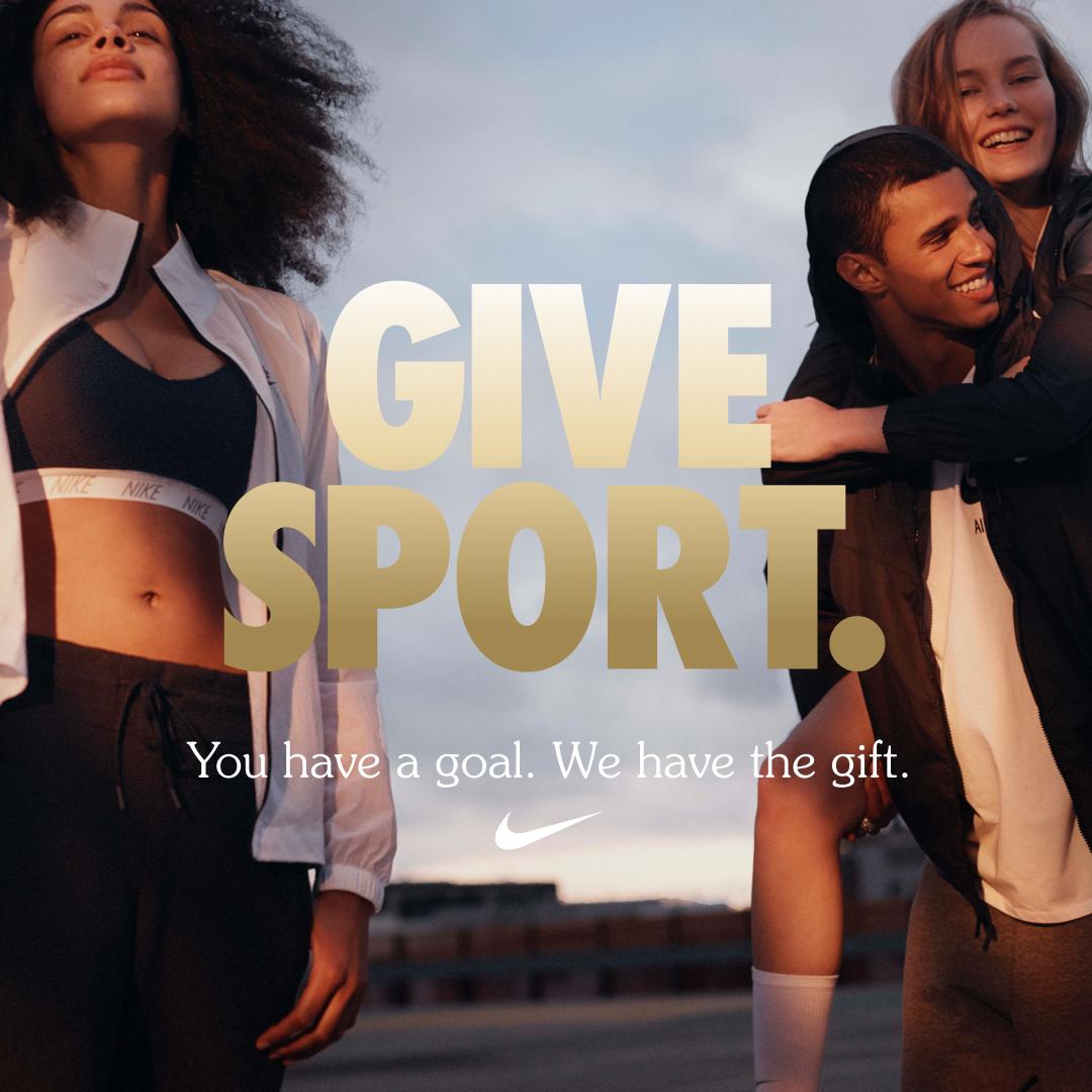 Nike Give Sport. Nike Sydney Gift Cards